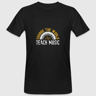 Club Music Music musician musical instrument music club gift - Men's Organic T-Shirt