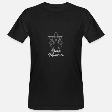 Meditate meditate - Men's Organic T-Shirt
