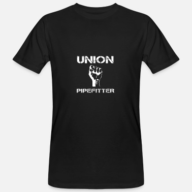 Pipe Fitter Union Pipefitter Pipe Fitter Pipe-Fitter Gift - Men's Organic T-Shirt