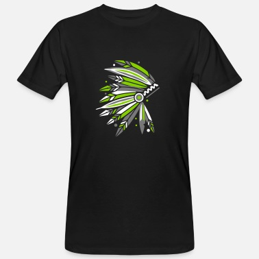Headdress Chieftain's Headdress - Men's Organic T-Shirt
