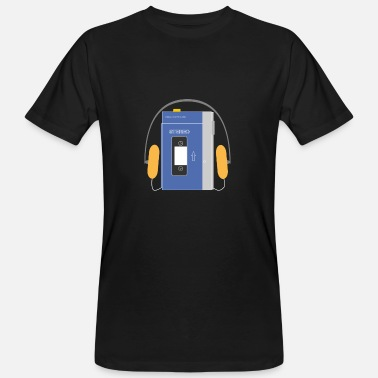 Stereo Stereo walkman in blue - Men's Organic T-Shirt