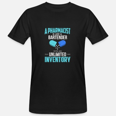 Pharmacist Pharmacy Pharmacist Gift - Pharmacy Pharmacy Pharmacy - Men's Organic T-Shirt