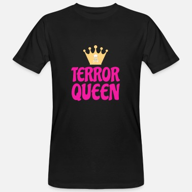 Kroning Terror Queen Baby Woman Teen Child Crown Gift - Organic mænd