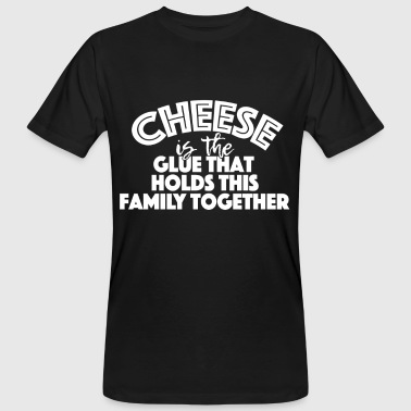 Cheese sticks families together - Men's Organic T-Shirt