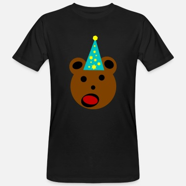 Party Bear Party bear - Men's Organic T-Shirt
