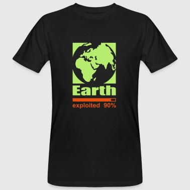 Earth exploited - Men's Organic T-Shirt