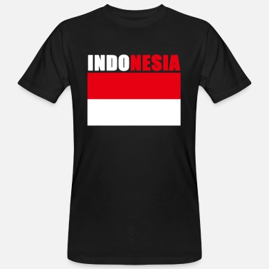 Indonesia Indonesia - Men's Organic T-Shirt