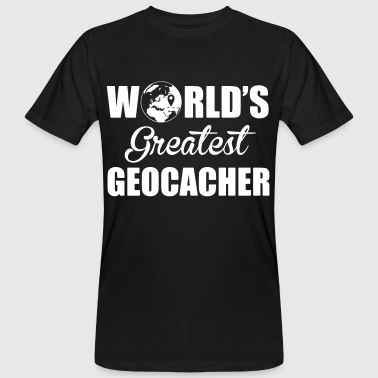 World's greatest geocacher - T-shirt bio Homme