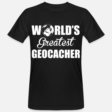 Caching World's greatest geocacher - T-shirt bio Homme