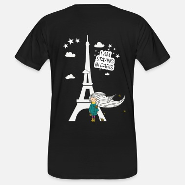 I Hate France I Am Staying In Paris by Unseen - Men's Organic T-Shirt