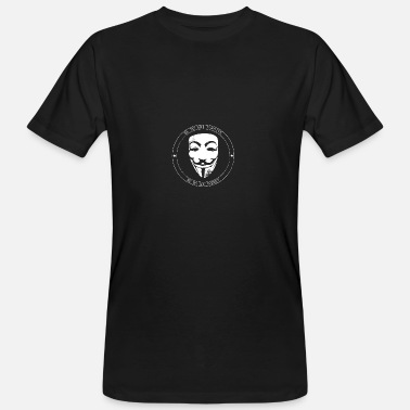 Anonymous Anonymous - Männer Bio T-Shirt