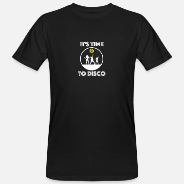 It's Time to Disco - Männer Bio T-Shirt