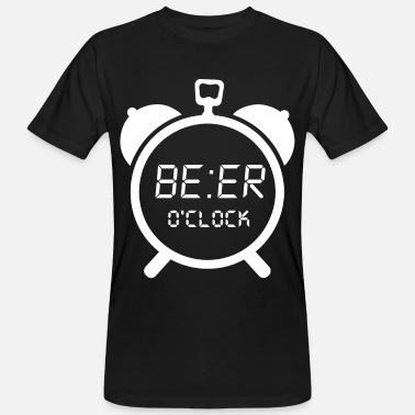 Clock BEER O CLOCK poison - Men's Organic T-Shirt