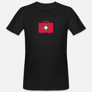 First Aid First aid kit - Men's Organic T-Shirt