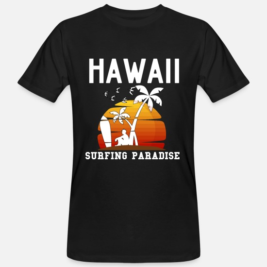 Hawaii T-Shirts - Hawaii - Men's Organic T-Shirt black