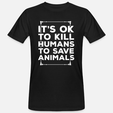 Animal animal welfare - Men's Organic T-Shirt