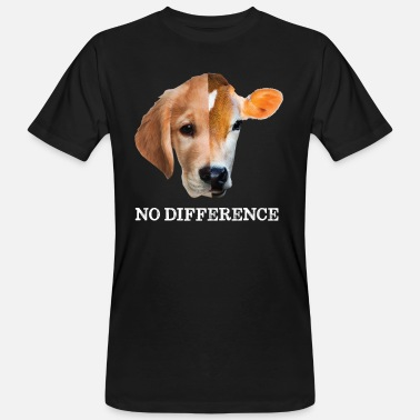 Unterschied No difference Vegan - Männer Bio T-Shirt