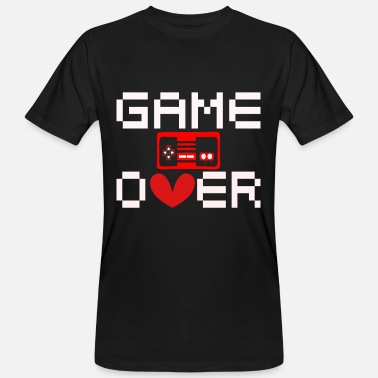 Game Game Over - T-shirt bio Homme