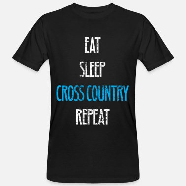 Cross Country CROSS COUNTRY SHIRT - Männer Bio T-Shirt