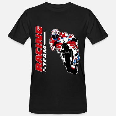 Racing Motorcycles Motorcycle racing - racing motorcycle - Men's Organic T-Shirt