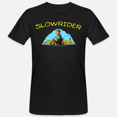 Comicstyle Slowrider ciclomotor Poder Comicstyle - Camiseta orgánica hombre