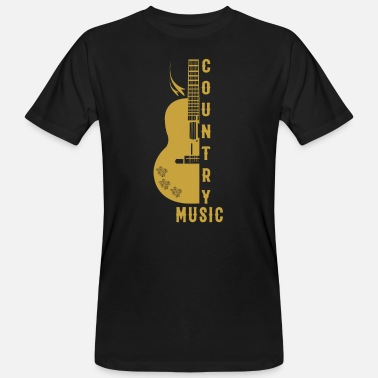 Country Western Guitar Country Western - Men's Organic T-Shirt