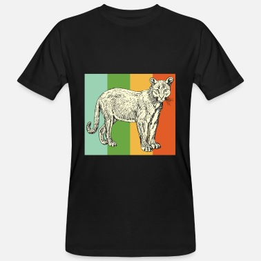 Cougar Cougar - Men's Organic T-Shirt