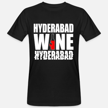 Hyderabad Hyderabad India - Men's Organic T-Shirt