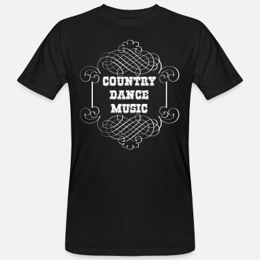 Dance Music country dance music - Männer Bio T-Shirt