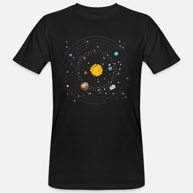 Jupiter Solar System Planet Earth Mars Jupiter Saturn - Men's Organic T-Shirt