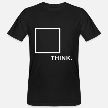Box Camiseta Think Outside The Box Idea de regalo para estudiantes - Camiseta orgánica hombre