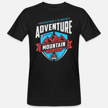 Graphic Art Adventure Graphic Art - Men's Organic T-Shirt