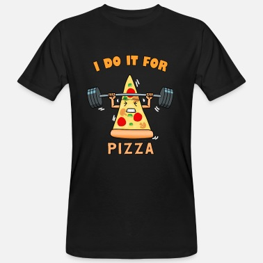 Lovely Pizza Love Food Lover Fast Food Gift - Men's Organic T-Shirt