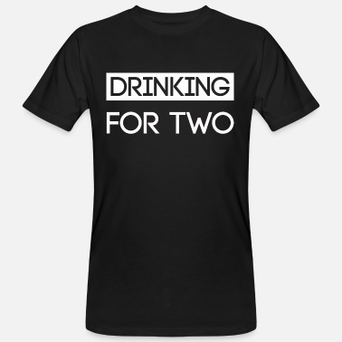 Drinking Drinking for two shirt - Men's Organic T-Shirt