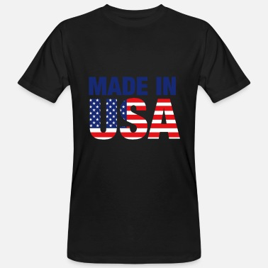 Made In Usa Made in USA - Men's Organic T-Shirt