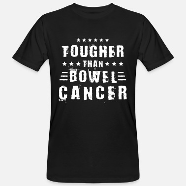 Fight Cancer colon cancer - Men's Organic T-Shirt