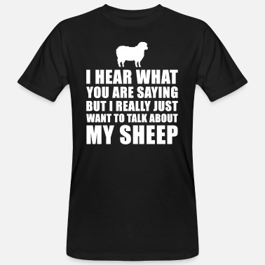 Sheep Funny Sheep Gift Idea - Men's Organic T-Shirt