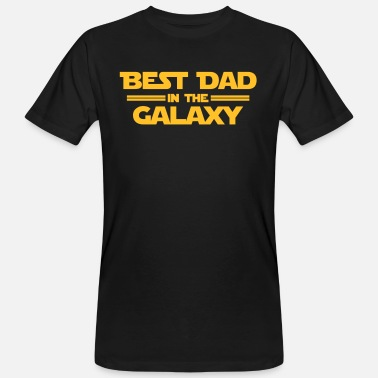 Galaxy Best Dad in the Galaxy - Maglietta ecologica uomo