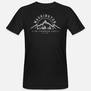 Washington Washington - Männer Bio T-Shirt