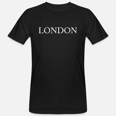 London London - Økologisk T-skjorte for menn