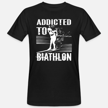 Biathlon Biathlon Addicted To Biathlon - Men's Organic T-Shirt
