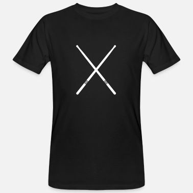 Crosswise Drums - Sticks crosswise - Men's Organic T-Shirt