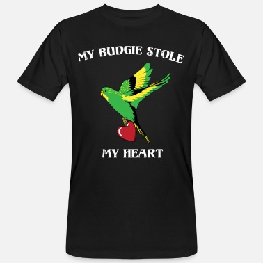 Pet Budgie parrot pet love - Men's Organic T-Shirt