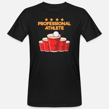 Professional Athlets Professional Athlete Beer T-Shirt - Männer Bio T-Shirt