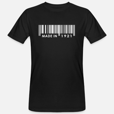1921 Birthday 1921 - Men's Organic T-Shirt
