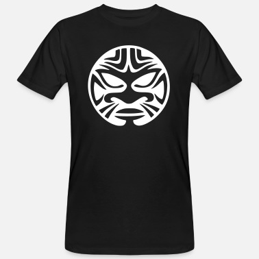 Maori maori face - Men's Organic T-Shirt