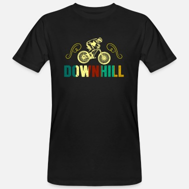 Dhs Downhill Cool Motif - Men's Organic T-Shirt
