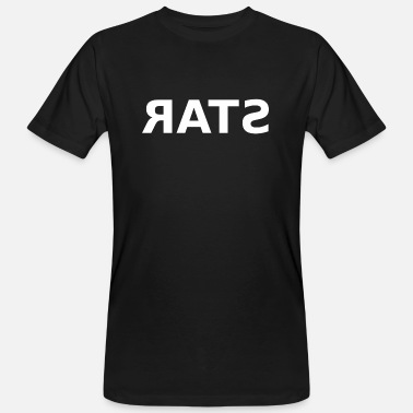 Rate STAR RATS - Økologisk T-skjorte for menn