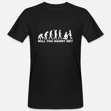 Marriage Proposal proposal of marriage - Men's Organic T-Shirt