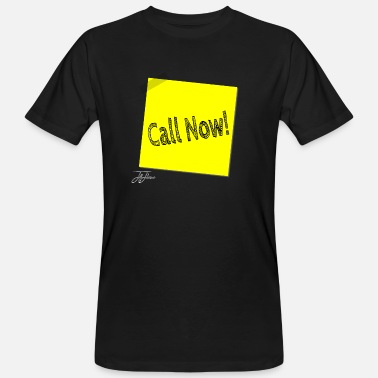 Callum call now 1426588 1 - Men's Organic T-Shirt